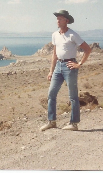 Philip at Pyramid Lake_Coo Yui Pah_1990